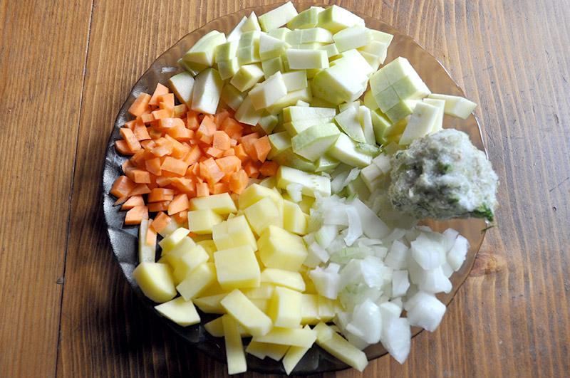 Нежный кабачковый суп-пюре своими руками