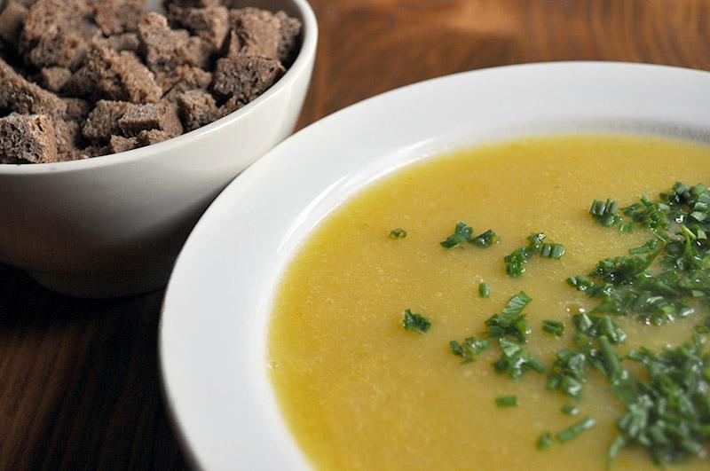 Нежный кабачковый суп-пюре - вкусно и полезно